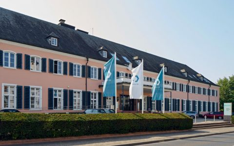 SGL Carbon Hauptsitz in Wiesbaden Schierstein.