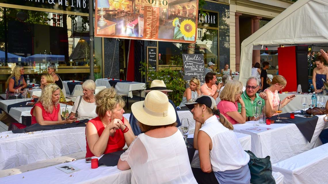 Das Taunusstraßenfest ist eröffnet