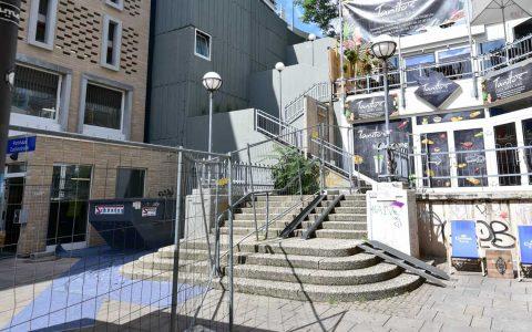Treppenanlage Schützenhofquelle ©2019 Volker Watschounek