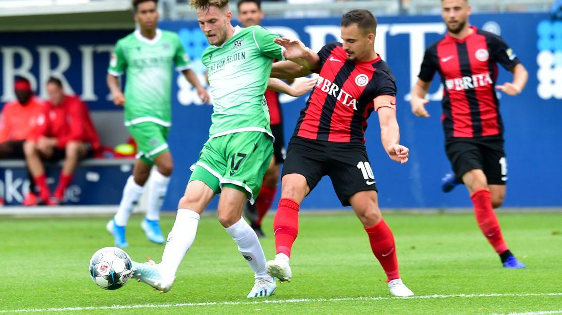 Wiesbaden gegen Hannover 96 chancenlos