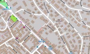 Kapellenstrasse Wiesbaden ©2019 Openstreetmap