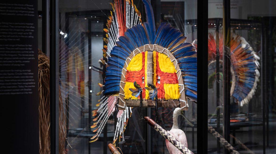 Museum Wiesbaden: Ausstellung: Mit fremden Federn